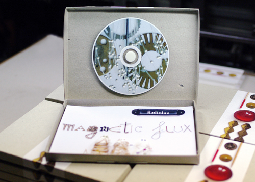 Magnetic Flux Album Cardbox