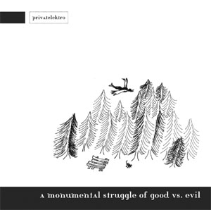 a monumental struggle of good vs. evil